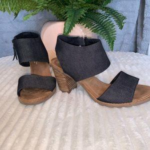 Toms Heeled Sandal